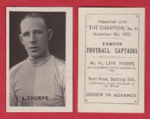 Lincoln City Levy Thorpe